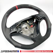 Aplati Alcantara Volant Neuf Fiat Grande Punto Rouge ,24MOISDEGARANTIE