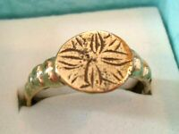 SUPERB X-MAS GIFT, DETECTOR FIND & POLISHED,200-400 A.D ROMAN BRONZE RING.