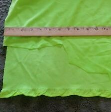 fabric suitable for swimwear and dance. 1 yard length 60 wide. Neon green