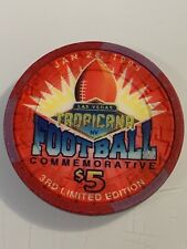 New listing Tropicana $5 Casino Chip Las Vegas Nevada 3.99 Shipping