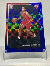 2018-19 Panini Hoops WENDELL CARTER JR /75 Blue SP Rookie RC #270