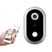 WiFi Video Door Phone Doorbell Ring Wireless Smart Doorbell Camera Night Vision