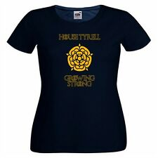 House Tyrell Ladies PRINTED T-SHIRT GoT Game Of Thrones Motto Rose Growing