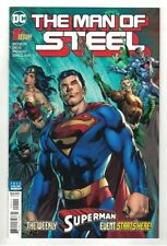 THE MAN OF STEEL #1-6 COMPLETE MINI-SERIES  BRIAN MICHAEL BENDIS STORY - DC/2018