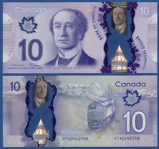 KANADA / CANADA 10 Dollars 2013 Polymer  UNC  P. 107