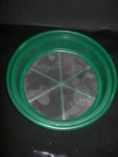 "Gold Pan Panning Classifier Mesh 1/12"" Screen Sifter W/FREE Vial! Prospecting"