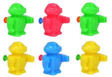 6 mini pistolas de agua Robot-Juguete Saquear/Bolsa Fiesta Pinata Relleno Boda/Niños