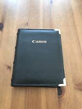 Genuine Canon 6x4 Photo Album BLACK