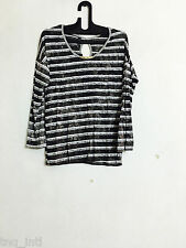 women t-shirt -Plus size/ladies t-shirt/Plus size ladies top/Striped top/t-shirt