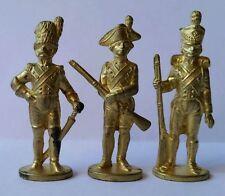 Sèrie Kinder Ferrero metal Soldaten - 50mm Gold