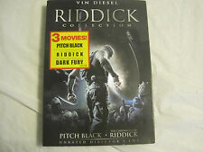 Riddick Collection~3 movies~Unrated Director's Cut~DVD~LBDVO
