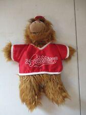 Alf Plush toy/puppet playing baseball 1988 Burger King