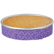 WILTON BAKE-EVEN STRIPS Set of 1 - PURPLE - Bake Moist Level Cakes Every Time ^^