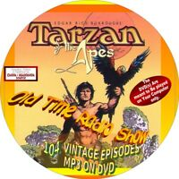 TARZAN OLD TIME RADIO SHOW - 104 VINTAGE EPISODES - MP3 on MP3 -TARZAN OF APES
