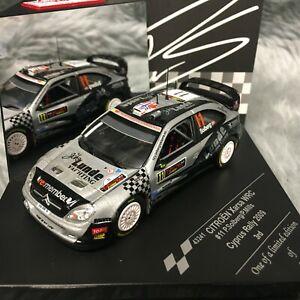 Vitesse 1:43 Citroen Xsara WRC Cyprus Rally 2009 Solberg Mills  #1143241