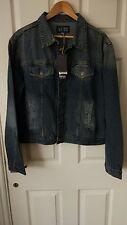 Armani Jeans Blue Denim Jacket Size XL New With Defect RPR£250
