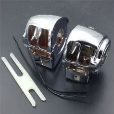 Chrome Switch Housing Cover For Harley Davidson Electra Glide FLHT/Classic FLHTC