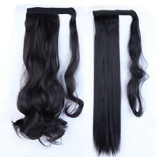 US Seller Real Thick Ponytail Clip In Hair Extensions Extention Natural Style P3
