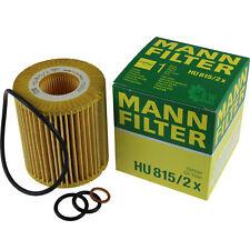 Original MANN-FILTER Ölfilter Oelfilter HU 815/2 x Oil Filter