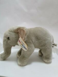 Another Korimco Friend Grey Elephant.  Approx 28cm Long tags soft toy plush