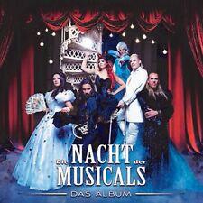 DIE NACHT DER MUSICALS, ELISABETH, ALADDIN, KÖNIG DER LÖWEN,ROCKY   CD NEU