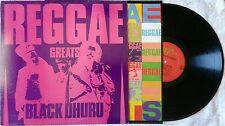 BLACK UHURU,Reggae Greats,Vinyl LP,1984,VG,Mango Island,Promo