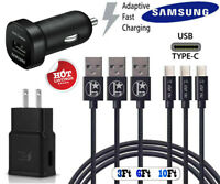 OEM Samsung Galaxy Note10 S8 S9 S10 + Fast Wall Charger + L Stars Type-C Cable