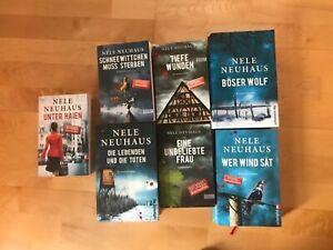 Nele Neuhaus-Büchersammlung 7 Bücher