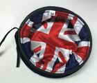 Blue Beret with Union Jack Silk Lining, Army, Small Crown, RAMC, RLC, Guards