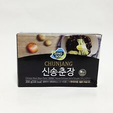 Shin Song Raw Black Bean Sauce Paste Chunjang jjajang myeon Korean food 200g