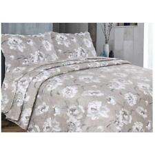 Vintage Shabby Chic Bedspread Set Comforter Quilted Throw King Size 240 x 260 cm