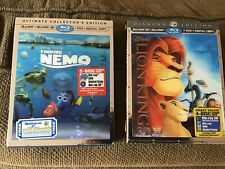 Disney Finding Nemo Ultimate Collector's Edition & Lion King Diamond Edition