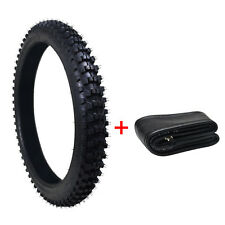 "3.00-21 80/100- 21"" inch Front Knobby Tyre Tire +Tube PIT PRO Trail Dirt Bike US"