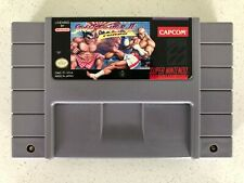 SNES Street Fighter 2 Turbo Super Nintendo TESTED