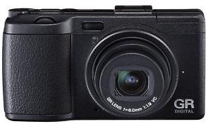 [NEAR MINT] Ricoh GR GR IV 10.4MP Digital Camera - Black from JAPAN (N078)
