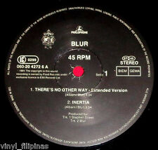 "MADE IN U.K.: BLUR - There's No Other Way 12"" EP/LP,Brit Pop,NO SLEEVE,rare!"