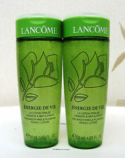 Lancome Energie De Vie Pearly Lotion Travel Size x 2 New