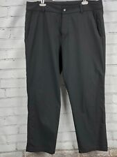 "LULULEMON ABC Dress Pants Men's 36 x 28"" Inseam Black - Wear to Work"