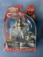 MIGHTY MORPHIN WHITE RANGER Power Rangers Super Megaforce Action Hero NEW