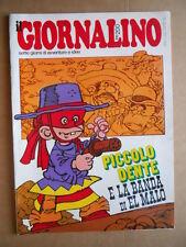 GIORNALINO n°34 1976 Piccolo Dente Asterix Babe Ford  [G555]