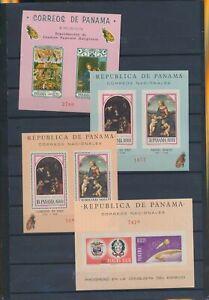 XC89146 Panama satellite rocket religious art sheets XXL MNH