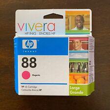 Hp 88 Print Catridge Magenta New Sealed Box Ink Cartridge Printer Ink