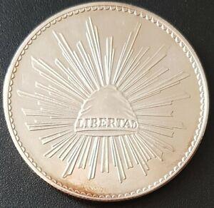 MEXICO Silver Medal 2oz. PROOF Plata Pura .999 Gorro frigio/Libertad VERY NICE!
