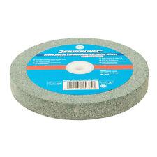 Silverline 836851 vert de carbure de silicium Bench Meule 150 x 20 mm Moyen