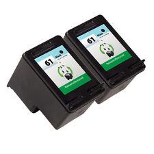 2PK HP 61 Ink Cartridge CH561WN - Deskjet 1055 Deskjet 3000 Deskjet 3050 Printer