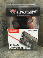 Streamlight Tlr-6 Led SubCompact Tactical Flashlight Universal Kit Laser 69277