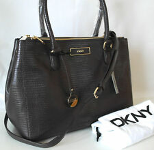Magnetic Snap Leather Outer Handbags DKNY Totes
