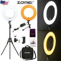 """18""""inch LED SMD Ring Light Kit with Stand Dimmable 5500K for Makeup Phone Camera"""