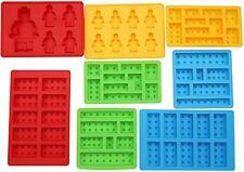 LEGO Candy, Chocolate Brick Block Robot Jello Jelly Mold Silicone Ice Cube 8 PC