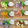 28 Heads Artificial Fake Silk Daisy Flower Bouquet Home Party Wedding Decoration